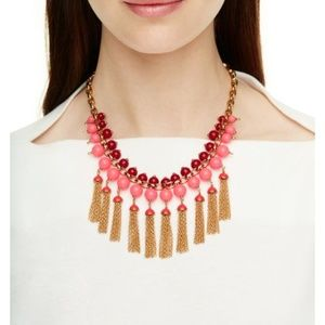 kate spade new york That's a Wrap Tassel Necklace
